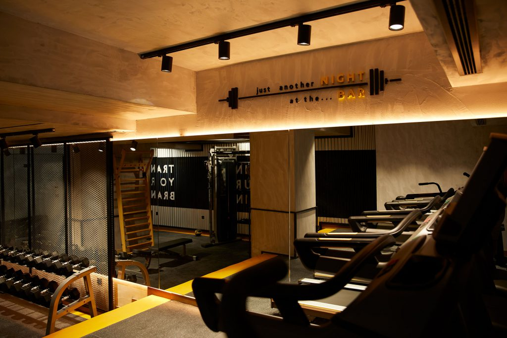 The Syntopia hotel gym